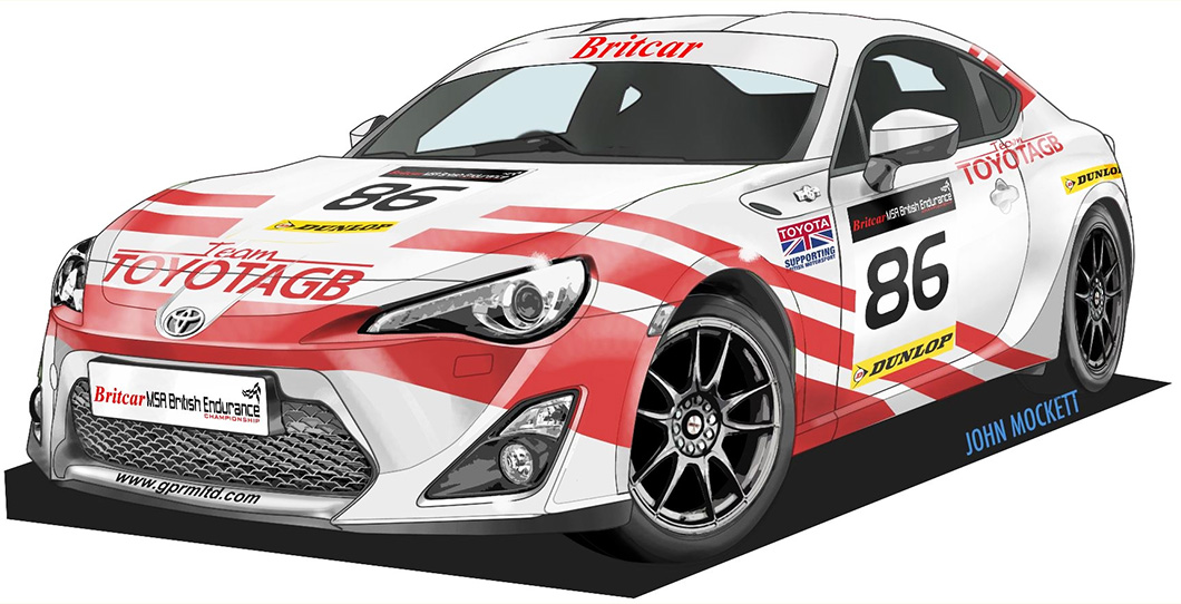 Team Toyota BG returns to racing with GT86